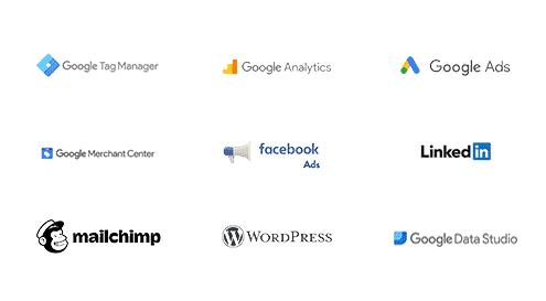 overzicht platform iconen